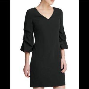 DKNY Black Mini Shift Dress